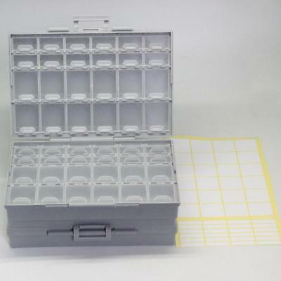 2pcs AideTek BOXALL48 lids SMD SMT organizer Electronics Storage Cases UK ship
