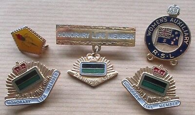 2/1 Inf Bn Assosiation Life Member Badges And Others