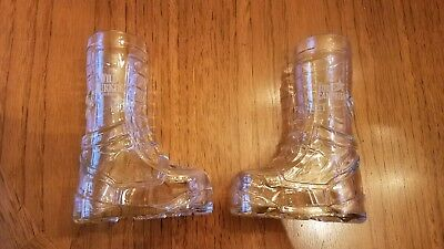 Set of 2 Wild Turkey Military Boot Glasses