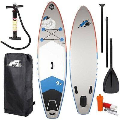 """F2 Sup Pirate Kids 9,2"""" 2018 Kinder Stand Up Paddle Board Paddel & Pumpe"""