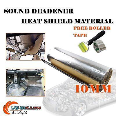 "108""x39"" Heat Sound Deadener Material Shield Noise Insulation Block Sound&Heat"