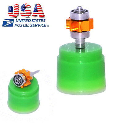 Dental Handpiece Cartridge Turbine Ceramic Open for LED High Speed with Carton
