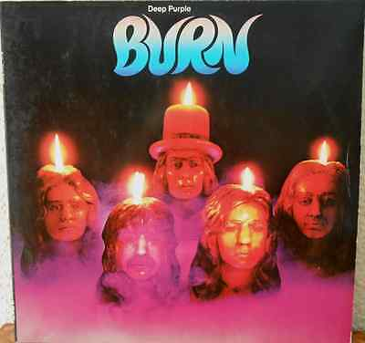 Deep Purple - Burn - Original LP 1974 - Version 1C 072-94 837 - sehr gut - rare