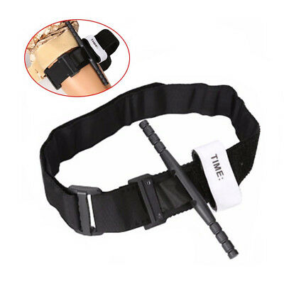 Medical Emergency Buckle Quick Slow Release Strap Black First Aid Tourniquet
