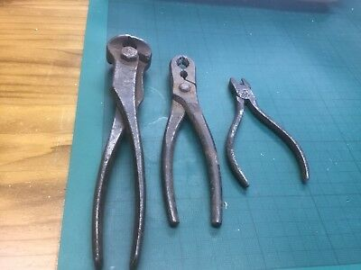 Three Assorted Vintage Pliers/Pincers
