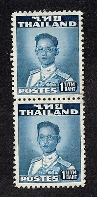 Thailand stamps , 1 Baht, pair used