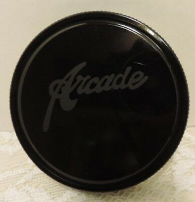 Black Metal Arcade Coffee Lid Fits Arcade Coffee Grinder