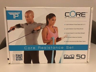 Core Resistance Excersize Stretch set by Power Tube Pro