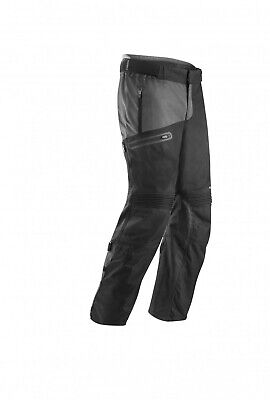 Pantaloni Pants Enduro One Gamba Larga Acerbis Baggy Nero Giallo Fluo Tg 40 (54)