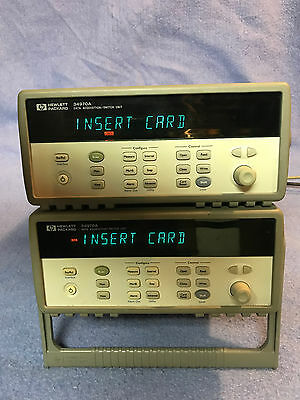 Hewlett Packard HP Agilent Keysight 34970A Data Acquisition Unit Repair Service