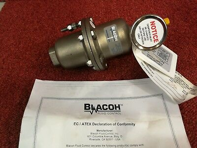 Blacoh Stainless Steel Pulsation Dampener CTS1020V-BSP-AT *