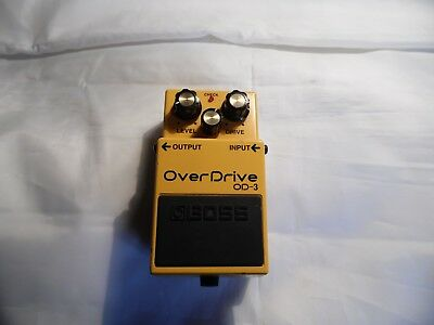 Boss Od-3 Overdrive Pedal !!!