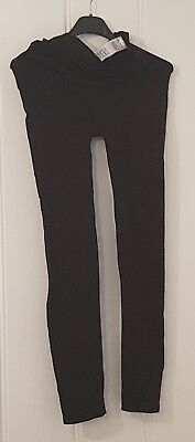 Mothercare active wear black maternity leggings size L