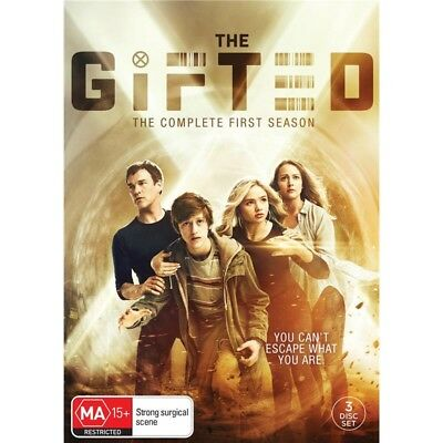 THE GIFTED-Season 1-Region 4-New AND Sealed- 3 DVD Set-TV Series
