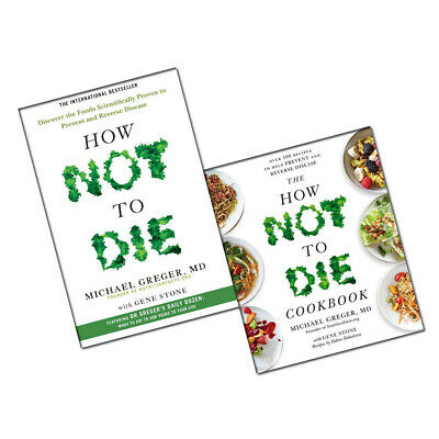 How Not To Die Cookbook Recipes Collection 2 Books Set Discover the foods NEW