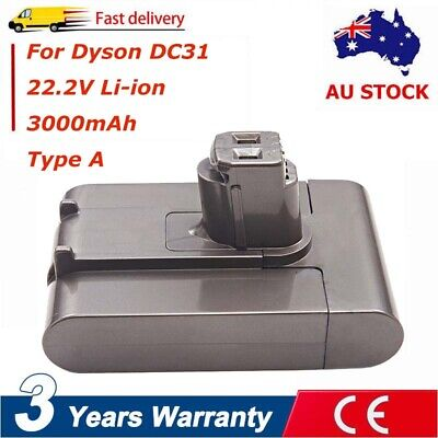 22.2V 3000mAh Type A Battery For Dyson DC31 DC34 DC35 DC43H DC44 Vacuum Cleaner