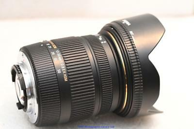 Nikon fit Sigma OS DC EX 17-50mm F2.8 HSM Lens STABALISED GREAT CONDITION VC VR