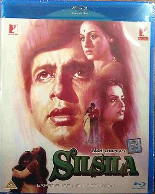 Silsila Blu-Ray - Amitabh Bachchan, Rekha - Bollywood Special Edition Bluray