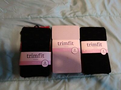 Toddler Girls panty hose lot X6 New . size 2 - 4 new