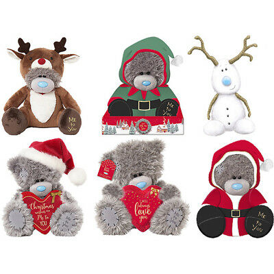 Me to You Christmas Tatty Teddy Bear Winter Bears Reindeer Santa Elf Bears