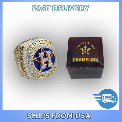 Houston Astros 2017 World Series Championship Replica Ring Size 7-15 FROM USA