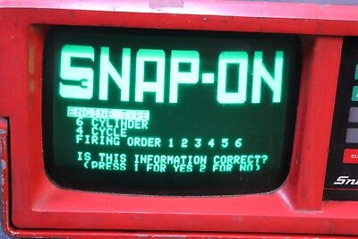 Snap On Counselor MT1665 Digital Oscilloscope w/ Cables and Adapters (nl)