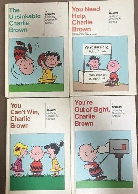 Charles Schulz Lot Of 4 Peanuts Weekly Readers All Hardcover