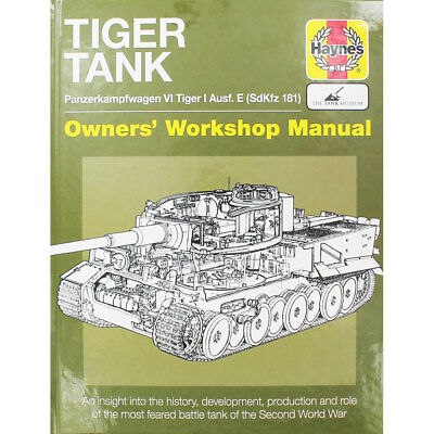 Haynes Tiger Tank Manual (Hardback), Non Fiction Books, Brand New
