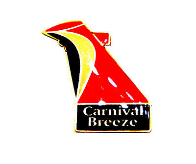 Carnival Cruise Lines Lapel Hat Pin Breeze