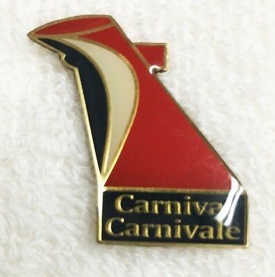 Carnival Cruise Lines Lapel Hat Pin Carnivale