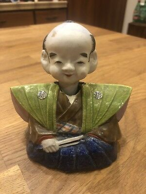 Fine Old Antique Japanese Banko Ware Nodder