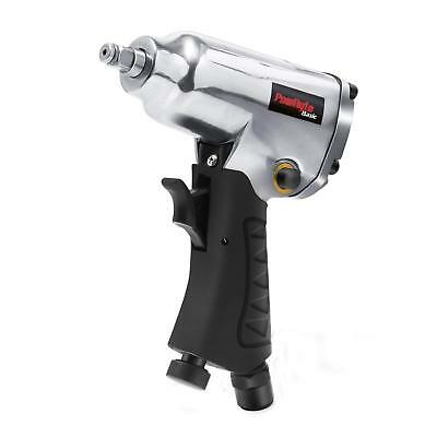 Compact Air Impact Wrench Adjustable Torque Tightening Exhaust Diffuser 3/8 Inch