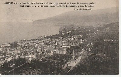 Sorrento  'It is a Beautiful Place'  1912