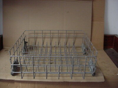 Whirlpool Dishwasher Complete Lower Dish Rack Assembly