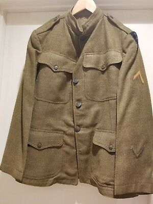 WW1 US Army 8th Division Doughboy's Rough Wool Uniform