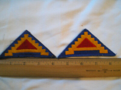 Us Army Seventh Army Shoulder Patch 2 Patches