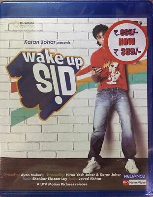 Wake Up Sid Blu-Ray - Ranbir Kapoor, Konkona Sen Sharma - Bollywood Movie Bluray