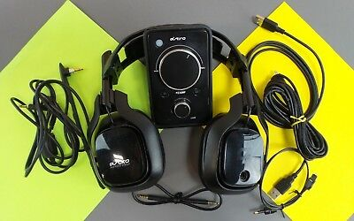 Astro A40 MixAmp Edition Black Headband Headset for Multi-Platform Read #teraM