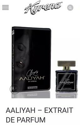 Aaliyah Xyrena Fragrance In Vhs Box Limited Edition Black Gold