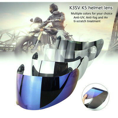 Helmet Visor Motocross Helmets Lens Shield for AGV K3SV K5 Motorcycle Anti-fog R