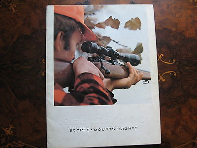 Redfield 70 Scopes Mounts & Sighs Catalogue  27 pages