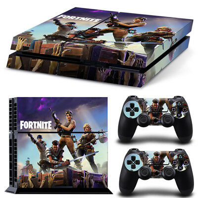 Fortnite PS4 Vinyl Skin Sticker Decal Console Controllers 4 Pieces no.2