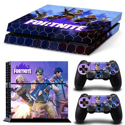 Fortnite PS4 Vinyl Skin Sticker Decal Console Controllers 4 Pieces no.5
