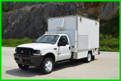 2002 Ford F-550 7.3 Diesel Service-Utility 11ft Box Truck Stock#B11045