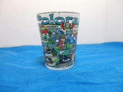 Colorado CO State Map Shot Glass