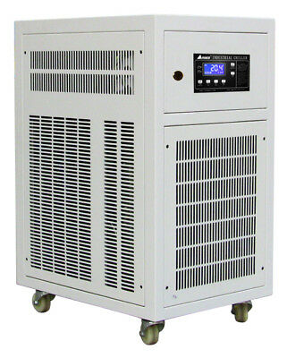 1 TON AIR COOLED CHILLER, Industrial Water Chiller, Portable 220V/1phase, HBC-1