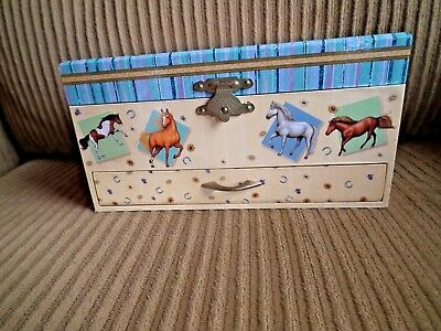 Horse Musical Jewelry Box Kingmater Art