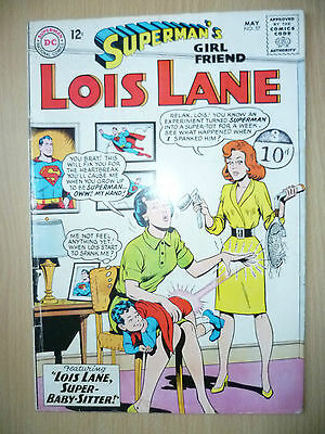 LOIS LANE DC Comics- SUPERMAN'S GIRL FRIEND, No.57, May 1965