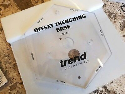 Trend TEMP/OTB/A Offset Trenching Base
