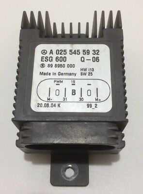 2004-2008 Chrysler Crossfire Auxiliary Cooling Fan Relay / A0255455932 / CF017
